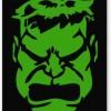 PosterGuy Hulk Inspired Fan Art Typography Mousepad