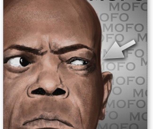 PosterGuy Samuel Jackson Minimal Illustration Mousepad