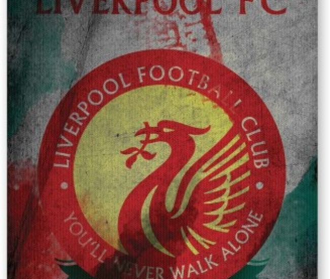 PosterGuy Yuo Will Never walk Alone | Liverpool Inspired Football Fan Art Mousepad