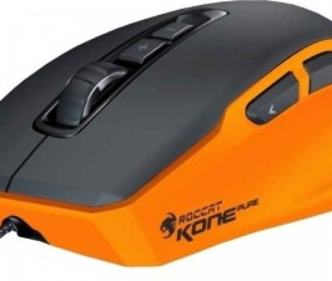 Roccat Kone Pure Inferno Orange Color Edition Wired Laser Gaming Mouse (USB 2.0)