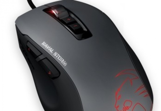 Roccat Kone Pure Naval Storm Military Edition Wired Optical Mouse Gaming Mouse (USB 2.0)