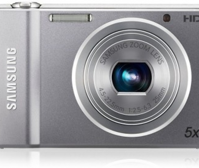 SAMSUNG Point and Shoot ST66 F = 4.5 ~ 22.5mm (35mm film equivalent : 25 ~ 125mm) Point & Shoot Camera