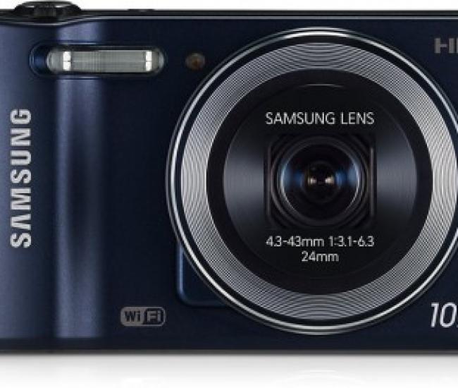 SAMSUNG Smart Camera WB30F 24mm Ultra Wide, 10x Optical Zoom Lens Point & Shoot Camera