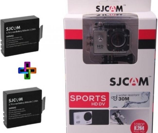 SJCAM SJ SJCAMSJ4000SILVER_2Battery SJCAMSJ4000SILVER_2Battery Sports & Action Camera