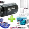 Teledealz H.264 Brand HD Video Handy Camera HD 90 Body Camcorder Camera