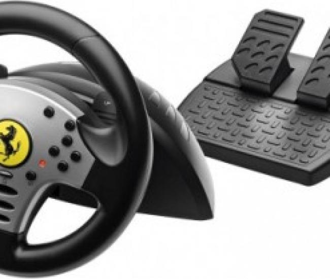 Thrustmaster Ferrari Challenge Racing Wheel  Joystick