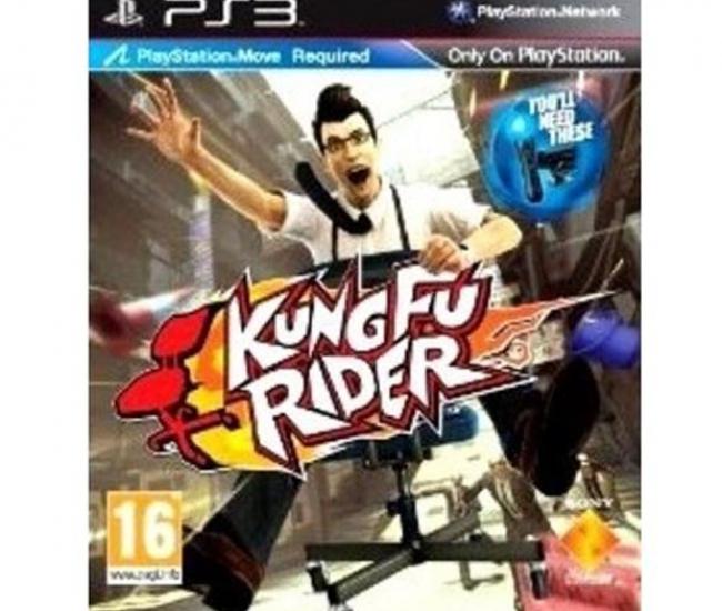 Kung Fu Rider Move PS3