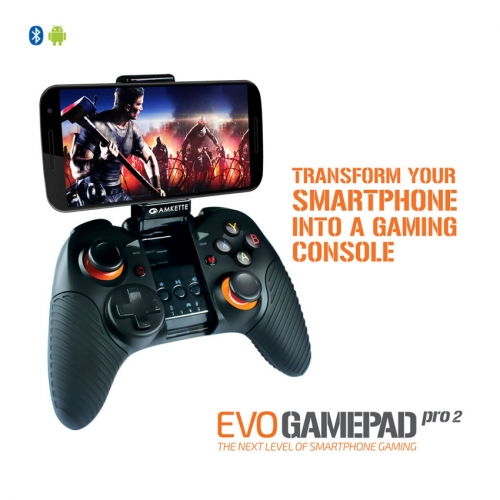 Amkette Android Wireless Controller For Android Smartphone And Tablets - Black
