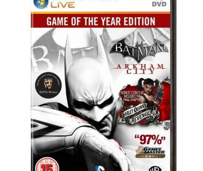 Batman Arkham City (Game of the year Edition) PC