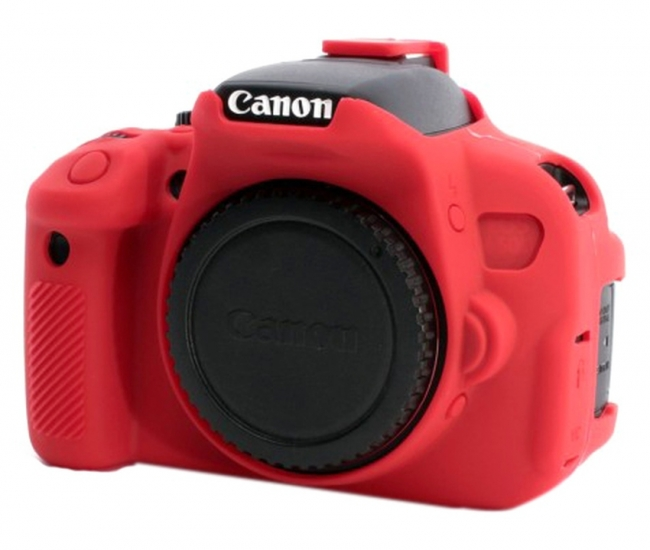 Axcess Silicon Case For Canon 650d Red