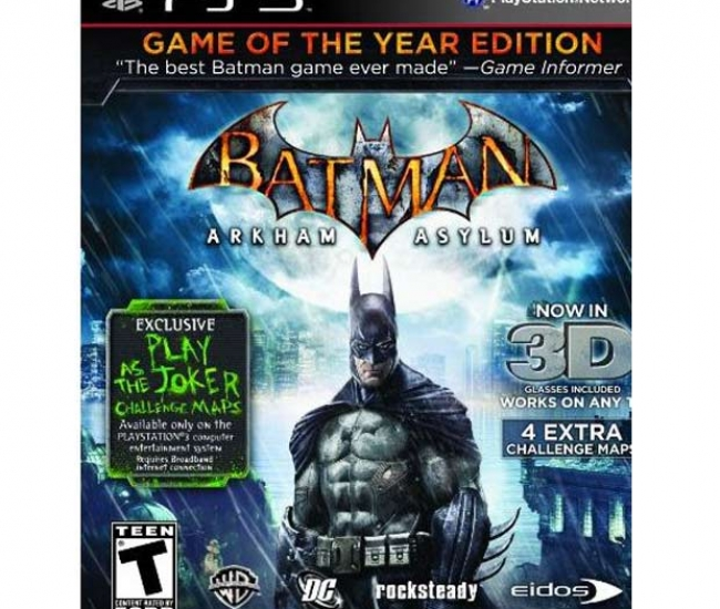 Batman Arkham Asylum (Game of the Year Edition) PS3