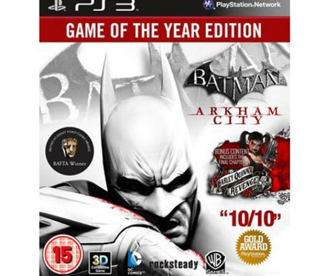 Batman Arkham City (Game of the Year Edition) PS3