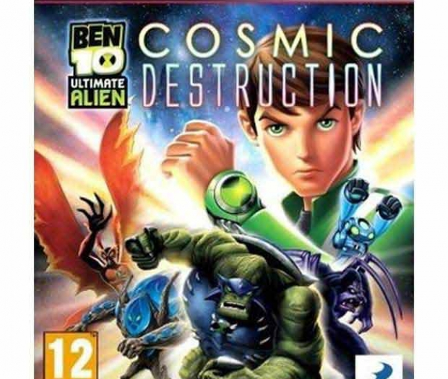 Ben 10 Alien Force Cosmic Destruction PS3