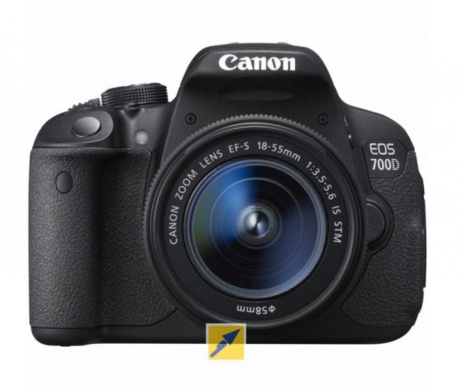 Canon EOS 700D DSLR Kit (EF S  18-55mm IS STM Lens) (Black)