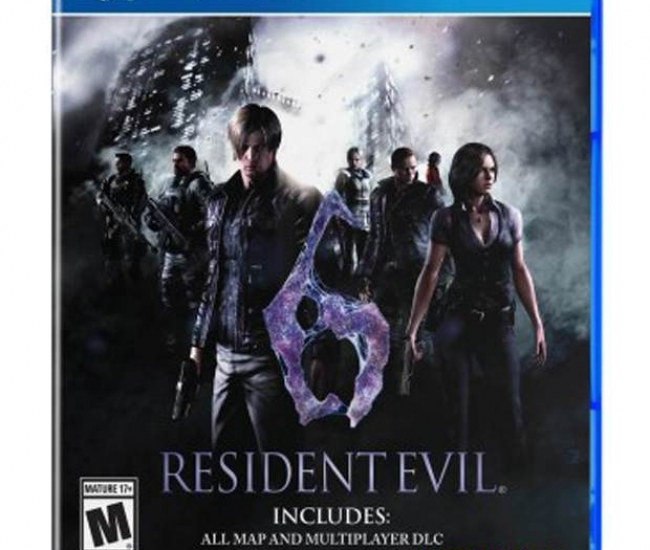 Capcom Multiplayer Resident Evil 6 Ps4 Adventure Game