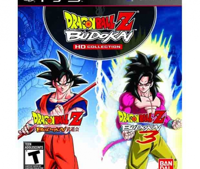 Dragon Ball Z Budokai (1-3) HD Collector Edition PS3