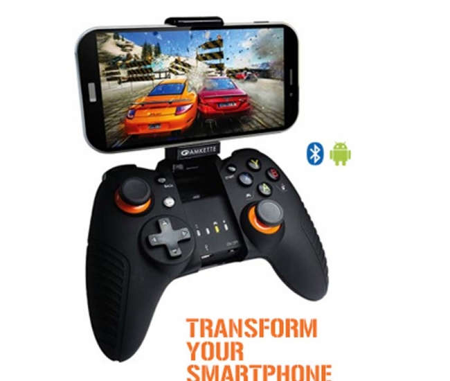 Amkette Evo Gamepad Pro For Android Phones & Tablets - Black