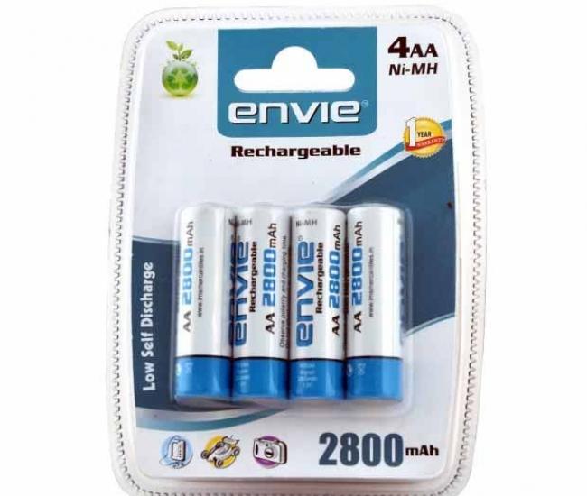 Envie AA 2800 4PL Battery