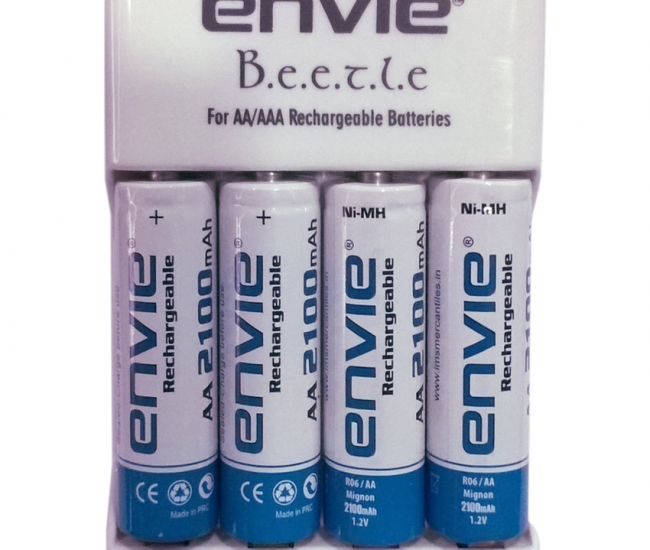 Envie Beetle Charger And 21004pl Ni-mh Battery