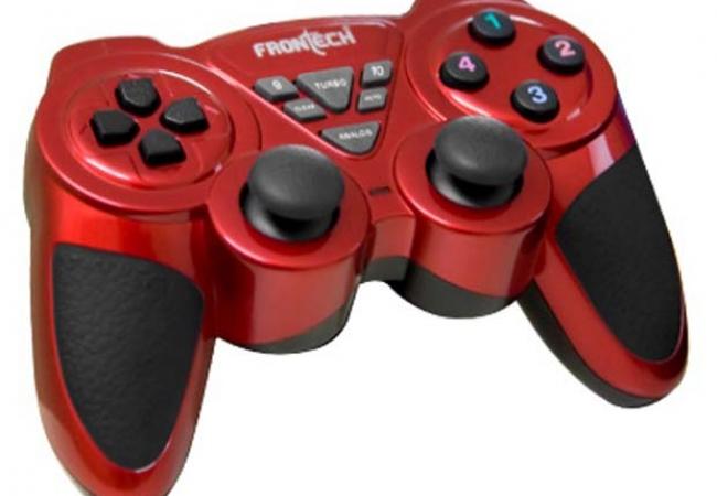Frontech Jil-1731 Gaming Pad /joystick - Red