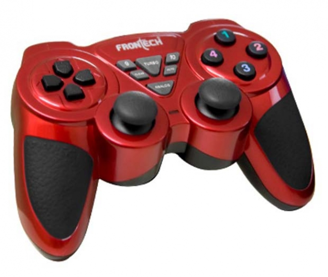 Frontech Jil-1731 Gaming Pad /joystick - Red