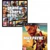 GTA V PS3 & Max Payne 3 PS3