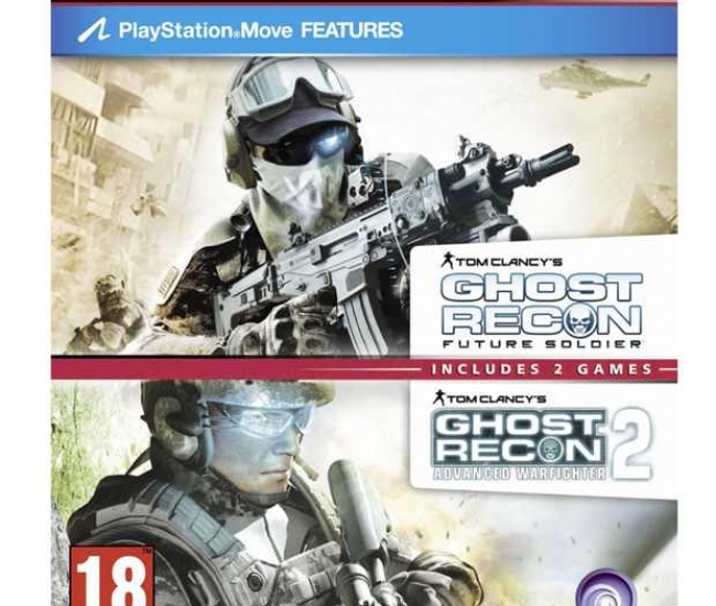 Ghost Recon Future Soldier & Advance Warfighter 2 PS3