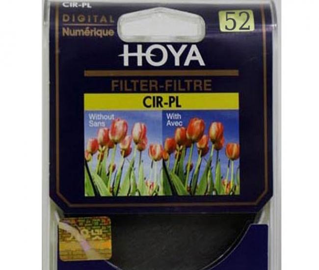Hoya 52mm CPL CIR-PL Filter