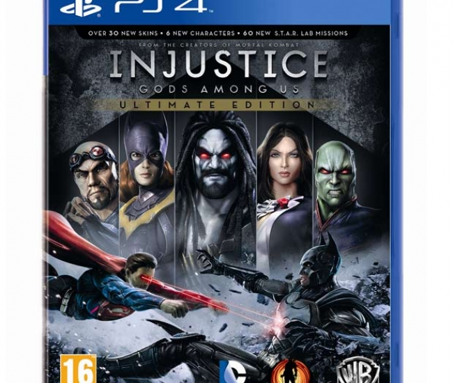 Injustice Gods Among Us: Ultimate Edition PS4