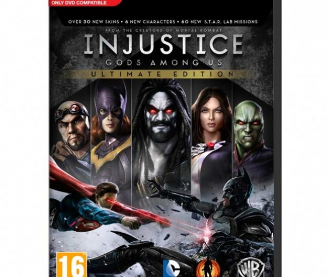 Injustice Gods Amongs Us Ultimate Edition PC