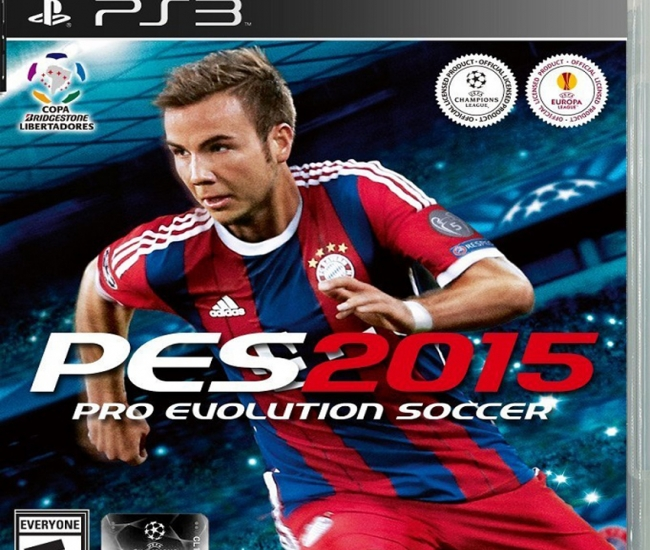 Konami Pes 2015 Pro Evolution Soccer Ps3