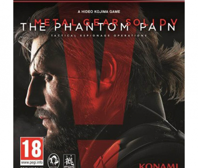 Konami Metal Gear Gaming Titles For Ps3 - Black And Red