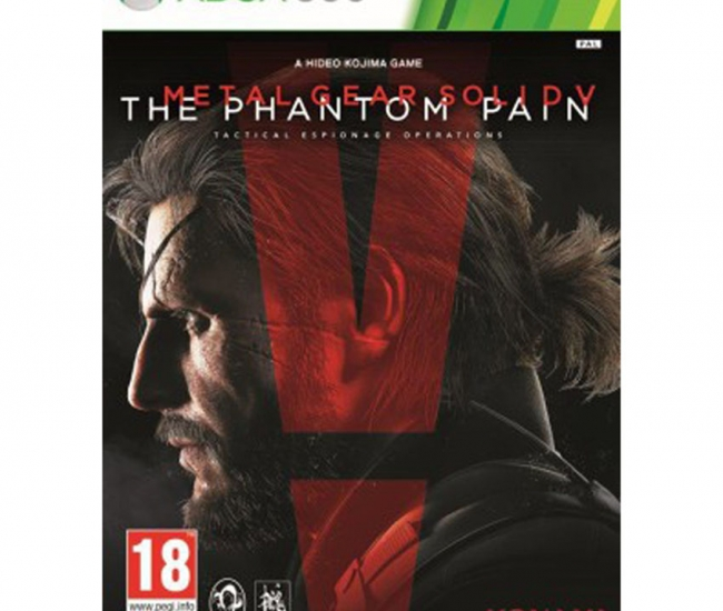 Konami Metal Gear Gaming Titles For Xbox 360 - Black And Red
