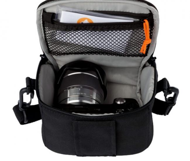 Lowepro Format 100 Shoulder Bag  (Black)