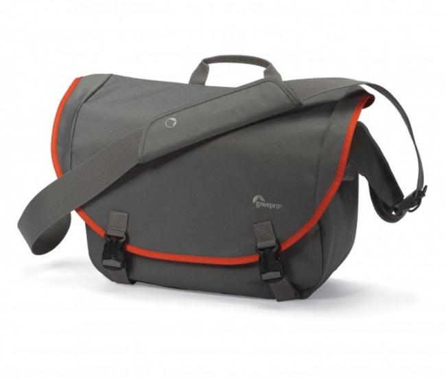 Lowepro Camera Bag Passport Messenger (grey/orange) Camera Bag