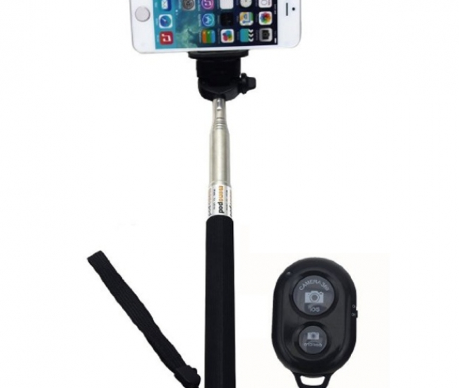 Maxicom Extendable Selfie Stick Monopod For All Mobiles And Camera With Remote Shutter