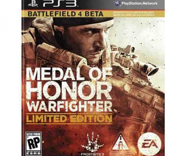 Medal of Honor Warfighter PS3 (Limited Edition)