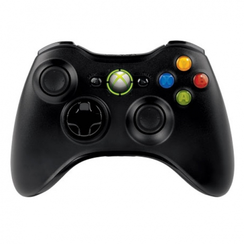 Microsoft Xbox 360 wireless controller for PC with USB receiver