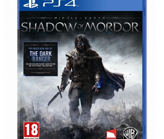 Middle - Earth : Shadow Of Mordor PS4