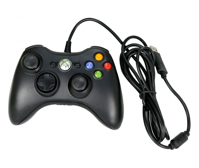 Mobacc Black Wire Controller For Xbox-360