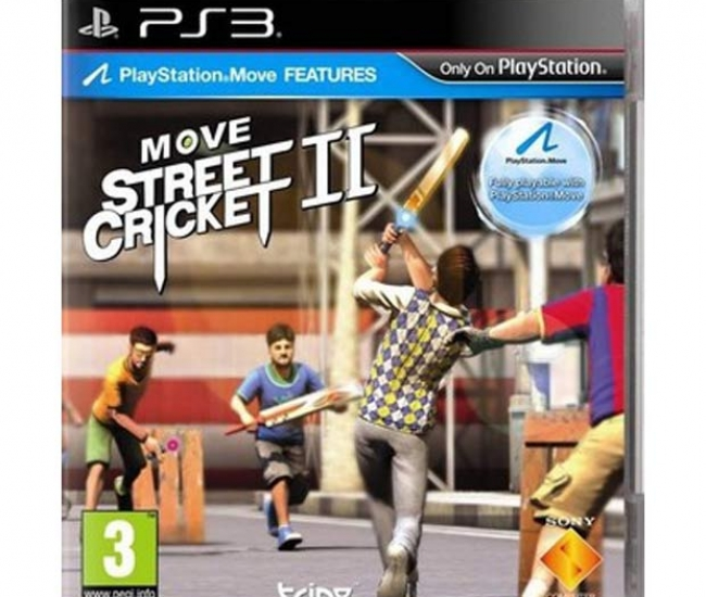Move Street Cricket II PS3