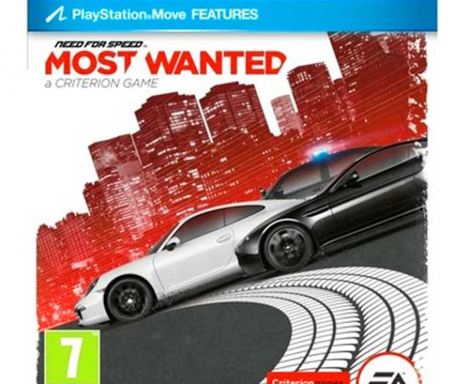 Need For Speed: Most Wanted - 2012 PS3