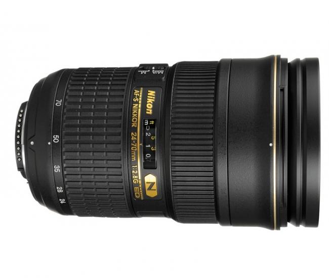 Nikon 24-70 mm f/2.8G ED Lens (FX Format)