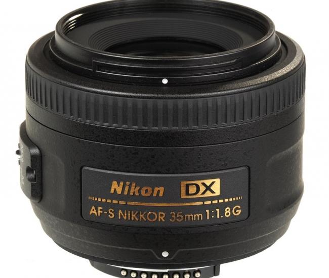 Nikon 35 mm f/ 1.8 G AF-S DX Lens  (DX Format)
