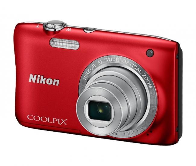 Nikon Coolpix S2900 Digital Camera - Red