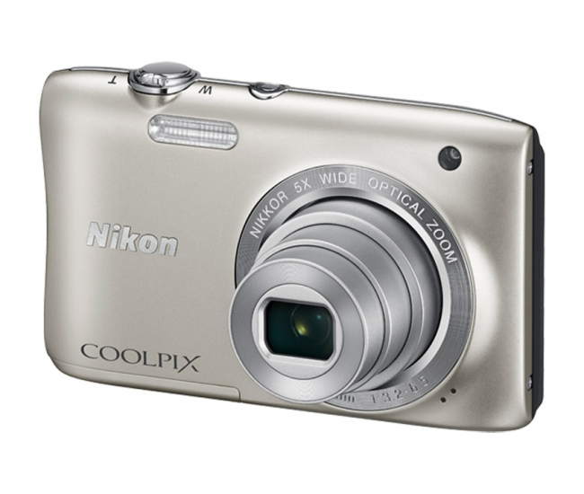 Nikon Coolpix S2900 Digital Camera - Silver