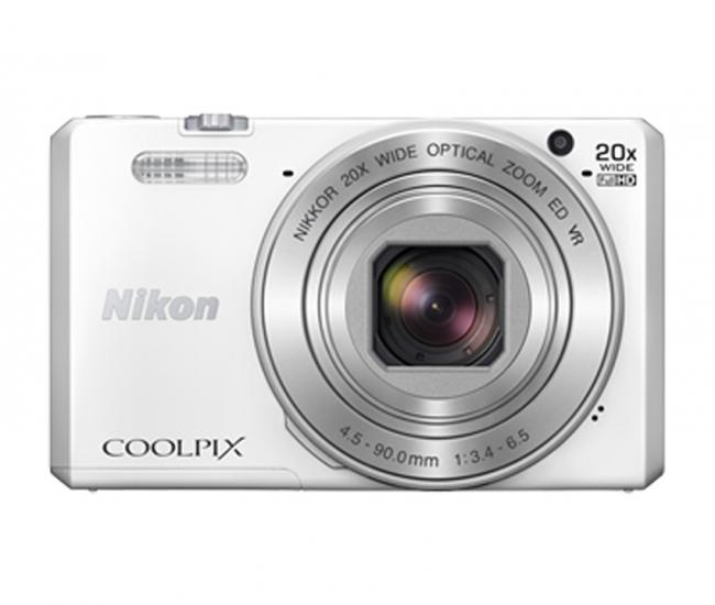 Nikon Coolpix S7000 16.0mp Digital Camera (white)