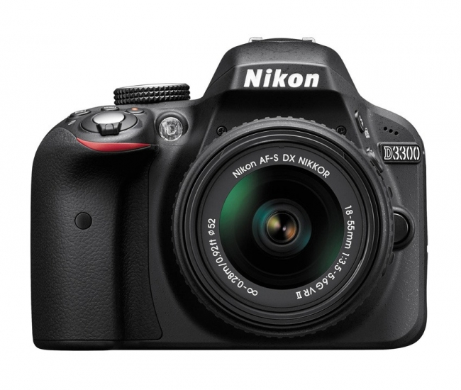 Nikon D3300 24.2MP DSLR (Body Only) (Black)