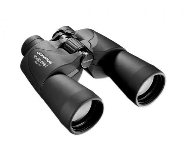 Olympus 10x50 DPS I Binocular (Black)