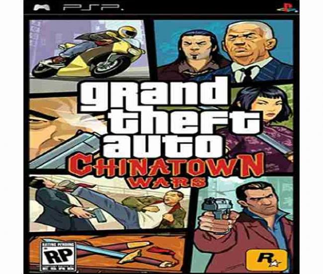 GTA Chinatown Wars PSP